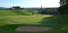 Grün der Bahn 15 - © Pelagone Golf Club Toscana