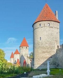 Stadmauer von Tallin