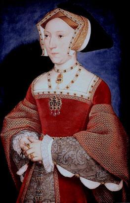 Jane Seymour (flickr, CC BY-NC-SA 2.0, Abb. von jean louis mazieres) Tudor Mode 16. Jahrhundert