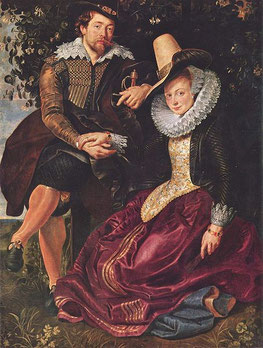 Peter Paul Rubens and wife Isabella (flickr, picture by Lisby)