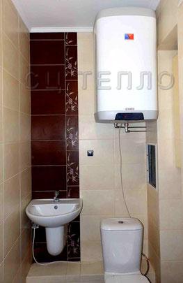 Установка водонагревателя Дражице ОКНЕ 100
