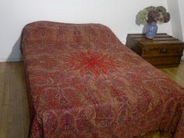 Couvre lit Couverture Cachemire 100 %Laine