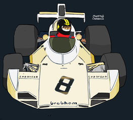Brabham BT44 de Carlos Pace by Muneta & Cerracín