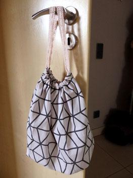Craft Ideas Tutorial kleine Stofftasche