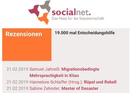 Socialnet Rezension erschienen!