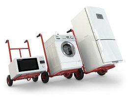 大洗町の洗濯機回収、リサイクル