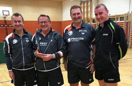 SGDI4: Waizinger Josef, Hinterleitner Karl, Fuchs Gerhard und Fellner Robert (von links nach rechts)