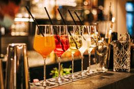 Aperitivo Lungo im Restaurant Schmied - Restaurant, Wein & Cocktail Lounge - Schenna - Giovedì del Burger - Scena - Gourmet Südtirol