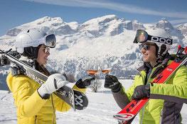 Dé dl vin/Wine Skisafari Alta Badia - Gourmet Südtirol