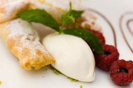 Apfelstrudel-Parfait - Luis Haller Rezept aus Südtirol Fragsburg Gourmet Südtirol