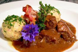 Rindsgulasch by Restaurant Langgenhof - Bruneck