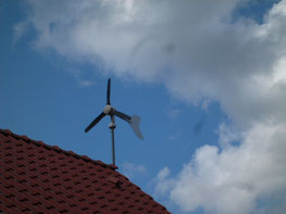 Windkraft am Hausdach