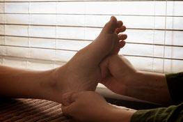 足裏の反射区ケアでカラダが元気になります。