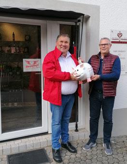 Adrian Schmitz und Henrik Engel