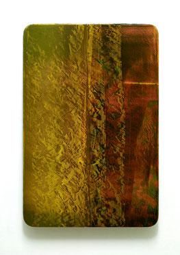 Utopischer Körper 47  2011  Acrylfarbe, Kunststoffsiegel, Ölfarbe auf MDF  60 x 40 cm Privatsammlung Düsseldorf