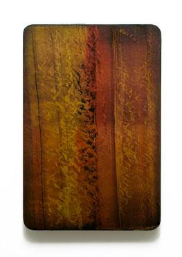 Utopischer Körper 50   2012  Acrylfarbe, Kunststoffsiegel, Ölfarbe auf MDF  60 x 40 cm