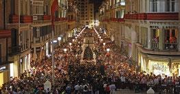 in spagna vengono fatte processioni e rappresentazioni teatrali della stazione della via crucis per pasqua