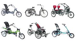 Dreiräder mit Elektrounterstützung