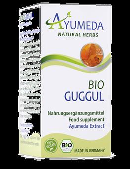 Ayumeda Guggul Extrakt 60 Kapseln für 1 Monat 100% BIO und Vegan Ayumeda-Nahrungsergänzungsmittel werden in Deutschland hergestellt