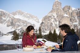 Roda dles Saûs - Skitour Santa Croce – 16.03.2014 - Alta Badia - Gourmet Südtirol