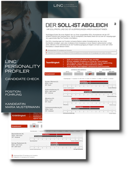 Personalauswahl mit Linc Personality Profiler