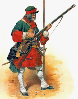 Smolensk Regiment, um 1715