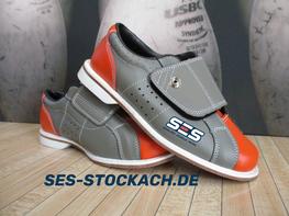 SES Stringpinsetter Bowlingalley Bowling Schuh/shoe house/rental verschiedene Größen/sizes Klettverschluss/velcro