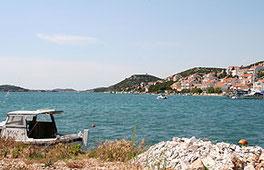 Kroatien - Bucht bei Tisno Insel Murter