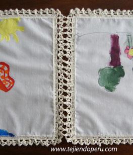 borde o puntilla tejida a crochet # 6