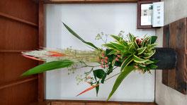 辻堂駅に飾ったお花