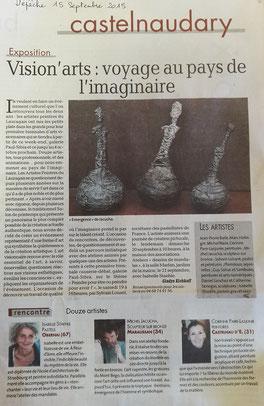Vision'arts Castelnaudary 2015