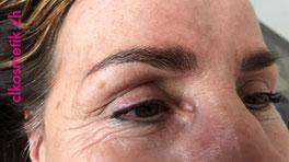 Hochzeit Konfirmation Filmkosmetik Studiokosmetik Microblading voluminöse Augenbrauen augefallene Augenbrauen Augenbrauen anpassen Augenbrauen Kosmentik Kosmetiksalon Fingernägel Schleifen Polieren bemalen Gelnägel Schminken Haut Pickel entfernen Peeling