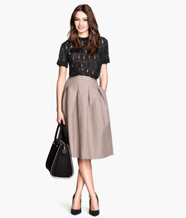 H&M full skirt