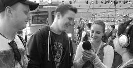Goulnas und Ilka auf der Ideen Expo am 26.08.