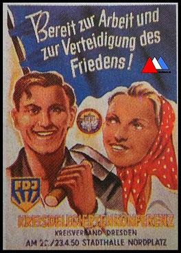 Propaganda kopie poster (1950) 1. collectie auteur.