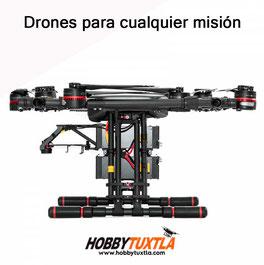 Los drones profesionales Wind 8 superan a cualquier drone de su tipo