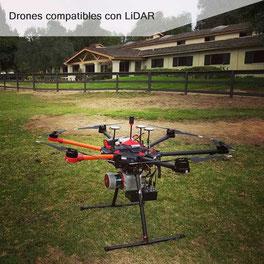 Los sensores LiDAR en conjunto con drones profesionales agilizan el proceso de mapeo de alta resolución