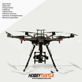 Venta de drones en México para cualquier aplicación industrial solo en