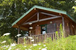 Mini chalets locatif sans sanitaires camping pont du dognon