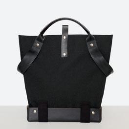 Trasporta bag - Universal Design Tasche - Rollstuhltasche - Tasche für Rollstuhl - Handtasche - Tragetasche - Im Tessin gefertigt - Farbe Schwarz