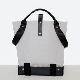 Trasporta bag - Borsa inclusiva Ticinese - Borsa  sedia a rotelle - Borsa a mano - Borsa  a tracolla - Prodotta in Ticino - Colore grigio