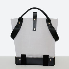Trasporta bag - Universal Design Tasche - Rollstuhltasche - Handtasche - Tragetasche - Im Tessin gefertigt - Farbe Grau