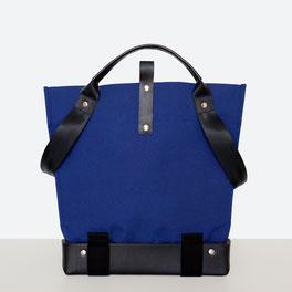 Trasporta bag - Borsa inclusiva Ticinese - Borsa  sedia a rotelle - Borsa a mano - Borsa  a tracolla - Prodotta in Ticino - Colore blu