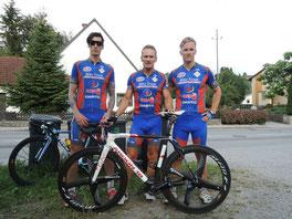 Manuel Seisenbacher, Wolfgang und Philipp Frehsner in Grieskirchen