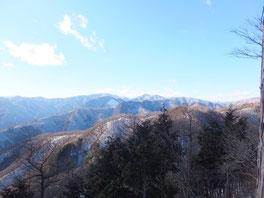 三ツドッケ山頂からの展望