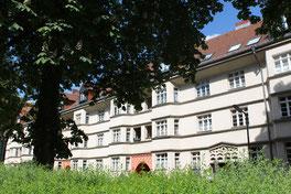 Fassadenflucht mit Erkern  Ceciliengärten. Foto: Helga Karl