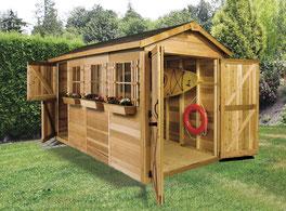 木製ガーデンシェッド・ガゼボの販売