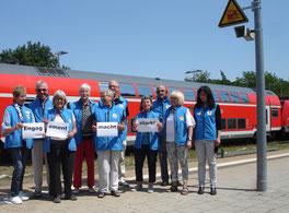 Die Bahnhofsmission Biberach meint: Engagement macht stark!