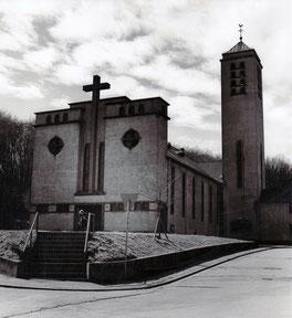 dudweiler, herrensohr, kaltnaggisch, katholisch, kirche, st. marien, 1938