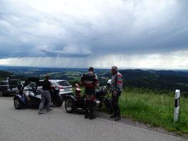 ein Gewitter über Straubing Juni 2016
